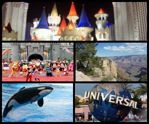 6-Day Tour from Las Vegas - West Coast, Grand Canyon South, National Parks, Los Angeles