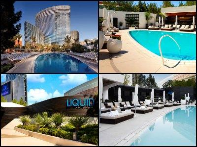 Aria Las Vegas pools