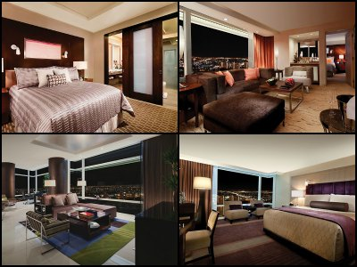 Rooms at Aria Hotel in Las Vegas