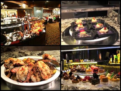 Buffet at Bally's Hotel in Las Vegas