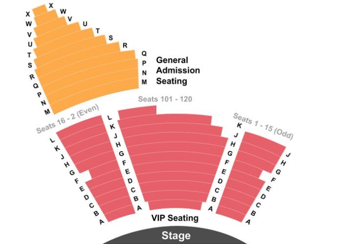 Beatleshow Las Vegas seating chart