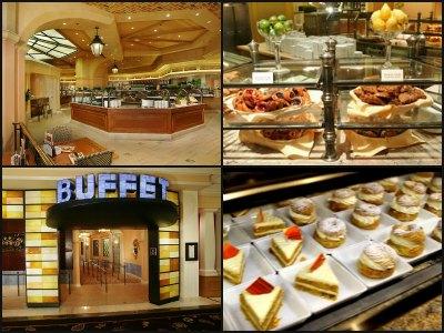 Buffet at Bellagio Hotel in Las Vegas