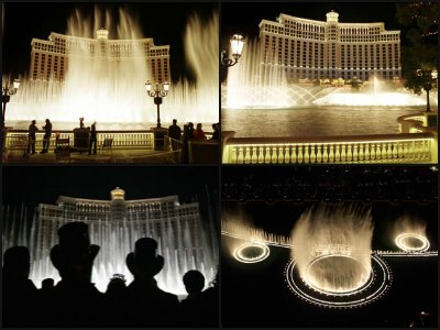 The Fountains of Bellagio at Bellagio Hotel in Las Vegas