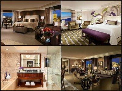 Rooms at Bellagio Hotel in Las Vegas