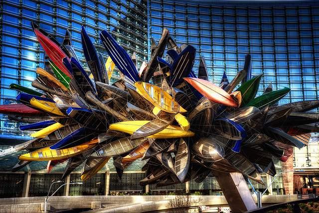 Big Edge art exhibit Las Vegas