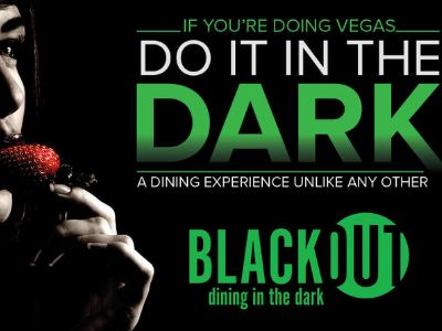 Blackout Dining in the Dark in Las Vegas