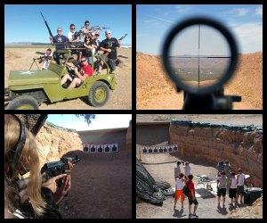 Bullets and Burgers- Outdoor Las Vegas shooting range