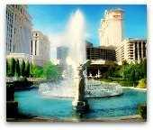 Caesar's Palace hotel in Las Vegas