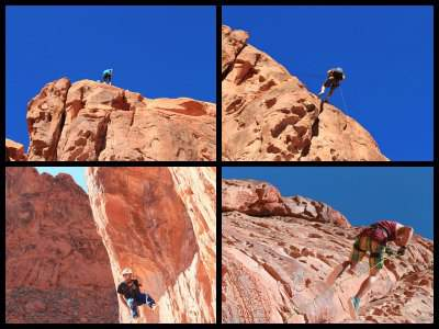 Canyoning Valley of Fire tour from Las Vegas