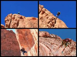 Canyoning in Black Canyon in Nevada