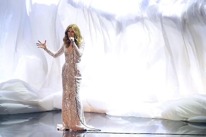 Celine Dion concert in Las Vegas