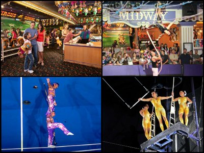 Entertainment at Circus Circus Hotel in Las Vegas