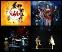 Cirque du Soleil - The Beatles: Love poster