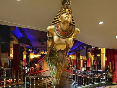 Cleopatra's Barge LAs Vegas
