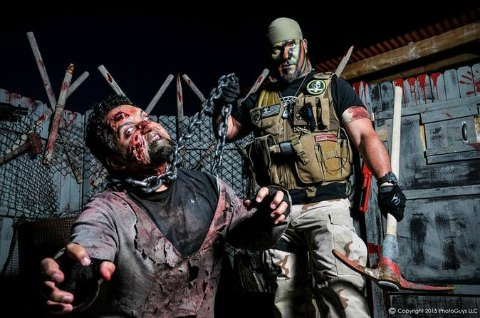 Las Vegas halloween - Combat Zone Paintball - Zombie Apocalypse