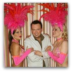 Nathan Burton  show Las Vegas