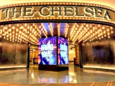 Entertainment at the Cosmopolitan Hotel in Las Vegas