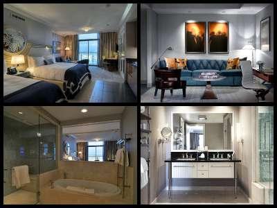 Rooms at the Cosmopolitan Hotel in Las Vegas