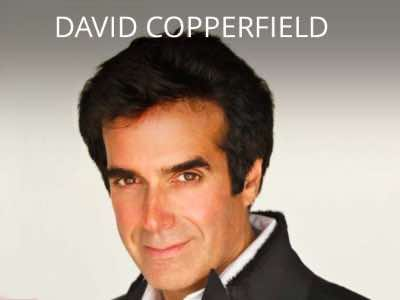 David Copperfield show Las Vegas