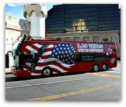 Doubledecker bus in Vegas
