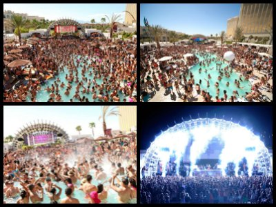 Las Vegas Daylight Beach Club At Mandalay Bay