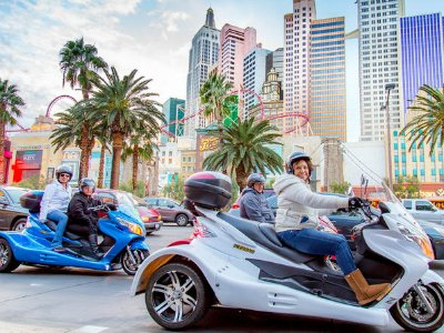 Downtown Las Vegas by Trike Tour