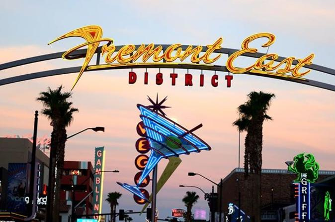 Downtown Las Vegas Nighttime Walking Tour