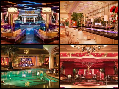 Nightlife at Encore Hotel in Las Vegas