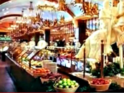Buffet at Excalibur Hotel in Las Vegas