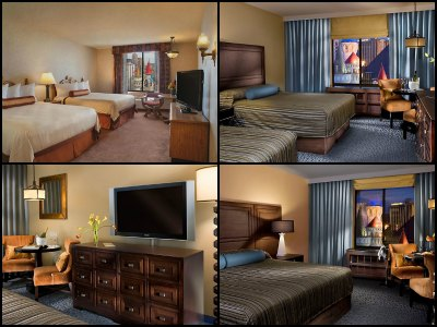 Rooms at Excalibur Hotel in Las Vegas