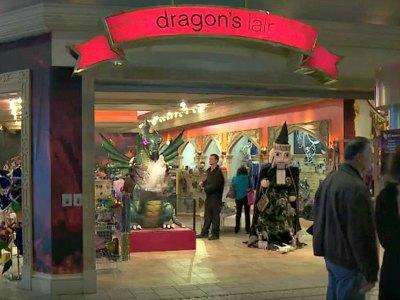 Shopping at Excalibur Hotel in Las Vegas
