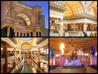 Caesars palace hotel las vegas for Red coach motor lodge san francisco
