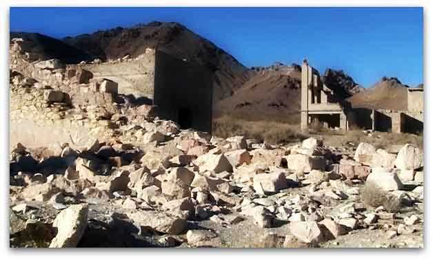 Ghost Town of Rhyolite near Death Valley