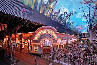 Golden nugget Hotel in Las Vegas