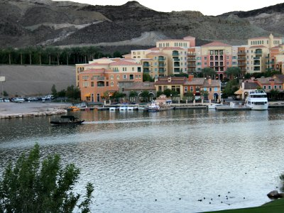 Gondola ride at Lake Las Vegas