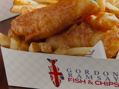 Gordon Ramsay Fish and Chips