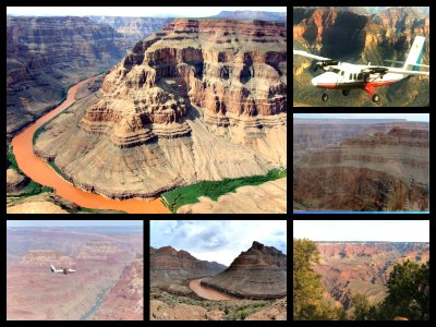 Grand Canyon Air tours from Las Vegas