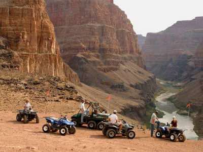 Grand Canyon ATV and Air Tour in Las Vegas
