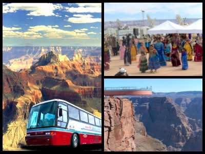 Grand Canyon bus tours from Las Vegas