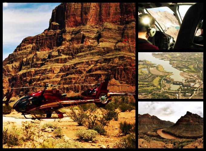 Grand Canyon Helicopter Tours From Las Vegas