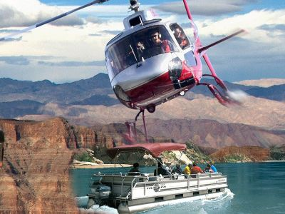Grand Canyon Jeep Tours With Helicopter and Boat
