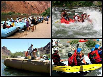 Grand Canyon rafting tours from Las Vegas