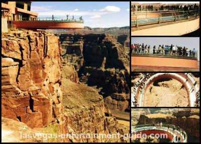 Grand Canyon Skywalk tours from Las Vegas