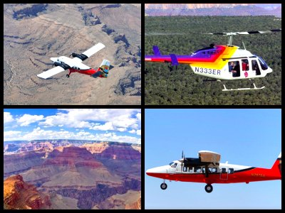 Deluxe Grand Canyon flight tours From Las Vegas - South Rim