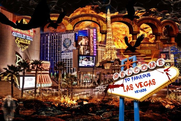 Halloween in  Vegas