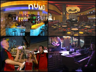 Nightlife at Harrah's Hotel in Las Vegas