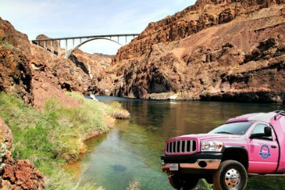 Hoover Dam tour by Pink Jeeps With Colorado River Float