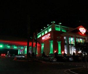 Hustler Las Vegas strip club sign