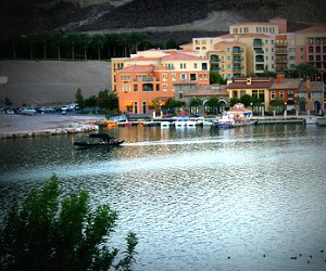 Lake Las Vegas and Gondola Wedding