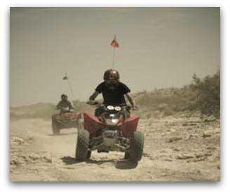 Las Vegas ATV tours - Nellis Dunes